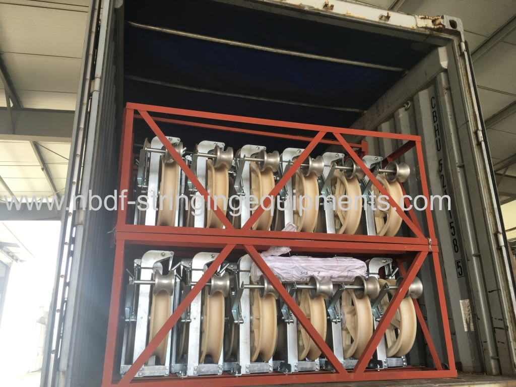 Helicopter Conductor Pulleys exported to Europe