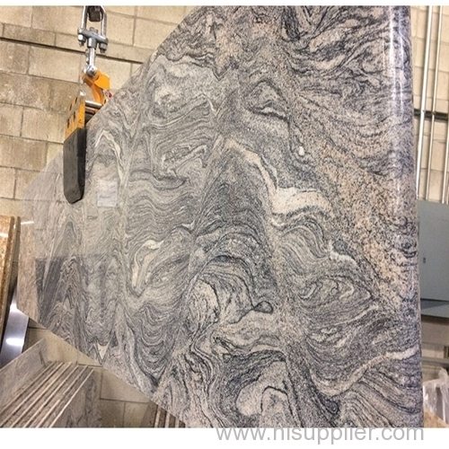 tropical grey granite with white veins