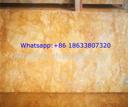High-end Noble Golden Granite Stone Big Slab for Luxury decoration Yellow color Y-25