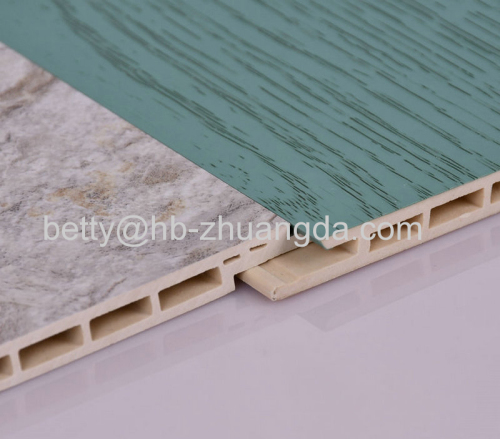 Interior Decorative Material PVC clapboard Environmentally Friendly Y-31