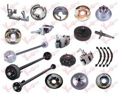 RV Boat Trailer and Trailer Axle Parts