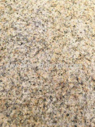 G862 Flamed Misty Yellow Granite Paving Stone brick Y-34