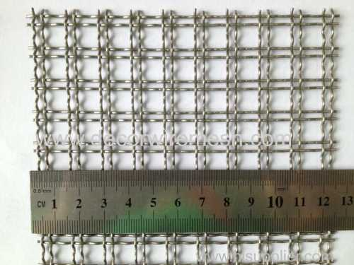 double crimped wire woven mesh