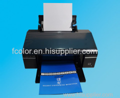 Desktop Office Inkjet Printer For Epson T50 A4 Size Sublimation Machine
