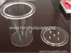High temperature resistance Clear Quartz Crucible