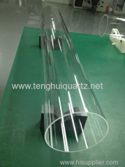 High temperature resistance Fused Quartz Tubing
