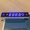 Customized blue / red / yellow 7 segment led display for kitchen hood control panel