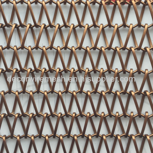 steel spiral decorative wire mesh