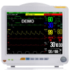 "Portable 12"" high resolution color TFT patient monitor"