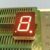 "Super red 0.6"" common cathode Single digit 7 segment led display for digital numeric indicator"