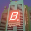 Super red 0.43inch common anode Single digit 7 segment led display for energy meter