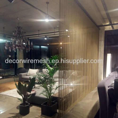 Best-selling Aluminum Chain Link Curtain for Room Divider