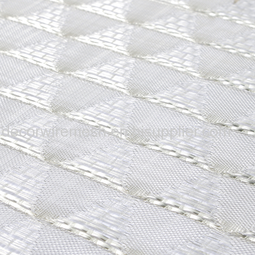 Silver Soft Mesh Decoration