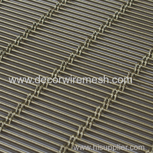 stainless steel woven mesh drapery