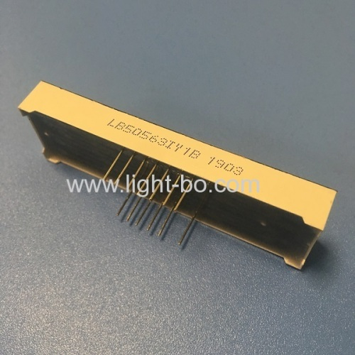 Super bright yellow 0.56  5 Digit 7 Segment LED Display Common Anode for process controller