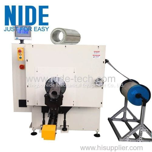 Automatic medium electric motor stator insulaiton paper inserting machine for sale