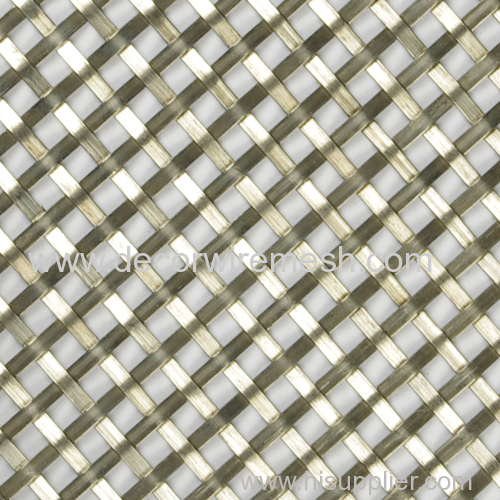 flat wire square mesh partition screen