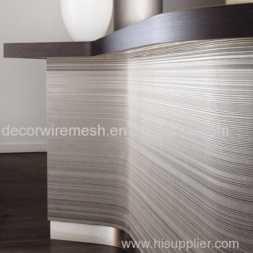 Wire Mesh Textile for Cabinent Decoration