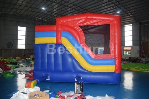Mickey mouse inflatable combo bouncer