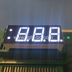 Custom design ultra white triple digit 7 segment led display for Temperature controller
