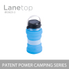 Portable Water Bottle Storage Solar Powered Folding LED Camping Lantern