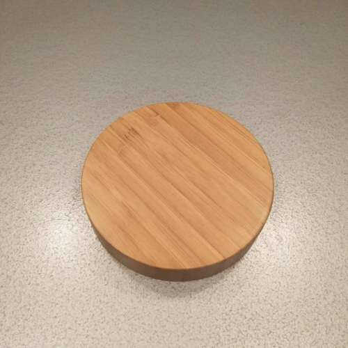 89/400 Bamboo lid for cream jar
