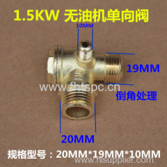 1.5KW Oil-free air compressor valve