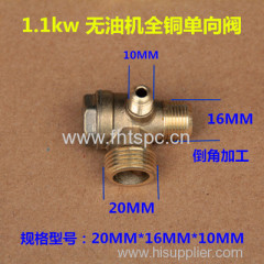 1.1KW Oil-free air compressor valve