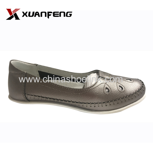 Women genuine leather loafers dealer