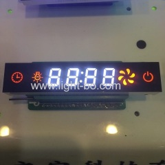 Multicolour Custom 7 segment led display module for kitchen hood