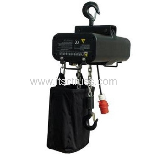 Motor Hoist for Aluminum Truss Roof Rigging