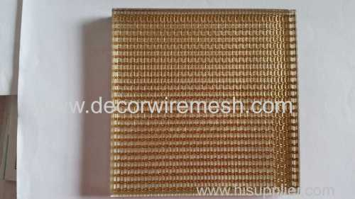 brass mesh for glass lamination