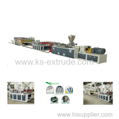 WPC Co-extrusion Foam Board Production Line
