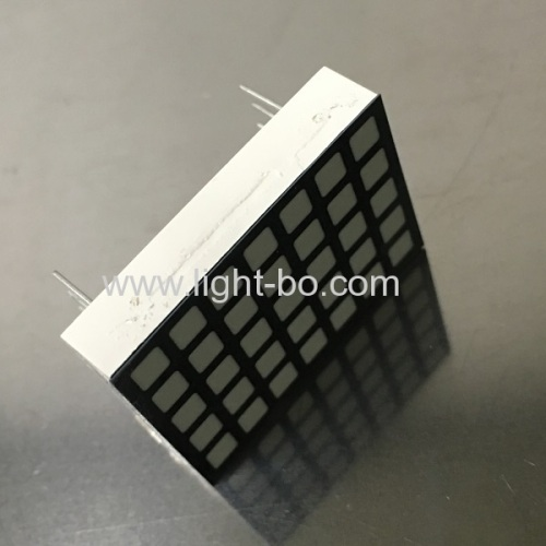 Ultra thin 5 x 7 Square White Dot Matrix LED Display for Lift Floor Number Indicator