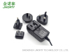 12V3A interchangeable wall plug in power adapter
