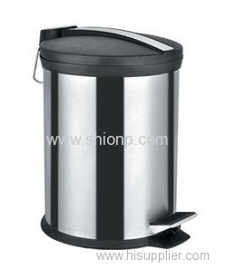 20L Stainless steel dust bin