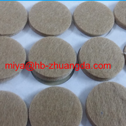 wool felt furniture anti-skid footpad