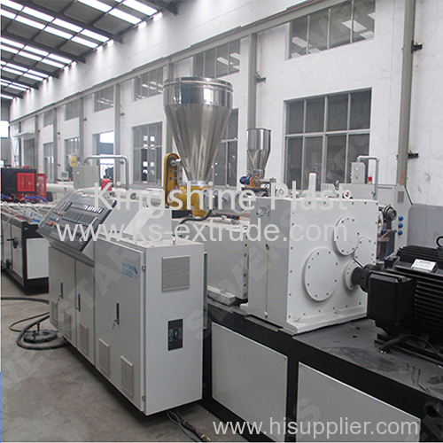 WPC extrusion machine / PVC wall