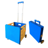 New Four-Wheel Climbing Plastic Supermarket Foldable Shopping Trolley Smart Cart