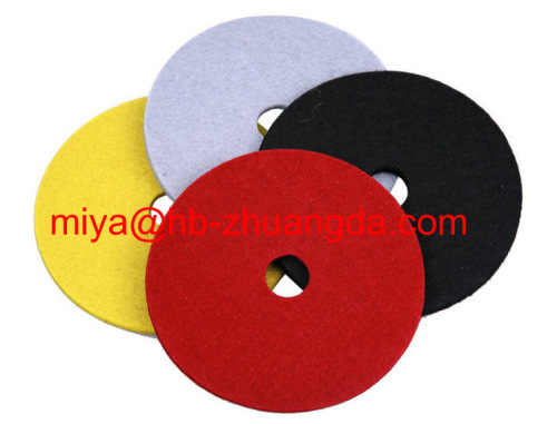 wool felt furniture anti-skid footpad 05
