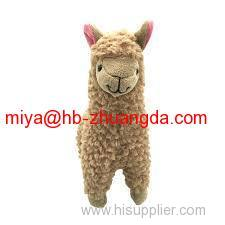 attractive wool felt animal handicraft products for children playing