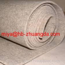 shoe-pad & insole making material 100% pressed woolen felt high-quality wool felt fabric