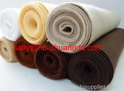 Good quality wool felt factory wholesale wool blend felt