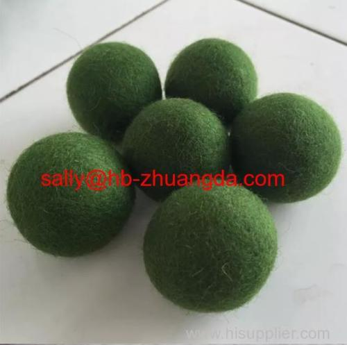 2cm 7cm 8cm 9cm 10cm 100% wool felt dryer balls for laundries