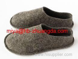 felt shoes making material 100% pressed woolen felt high-quality wool felt fabric