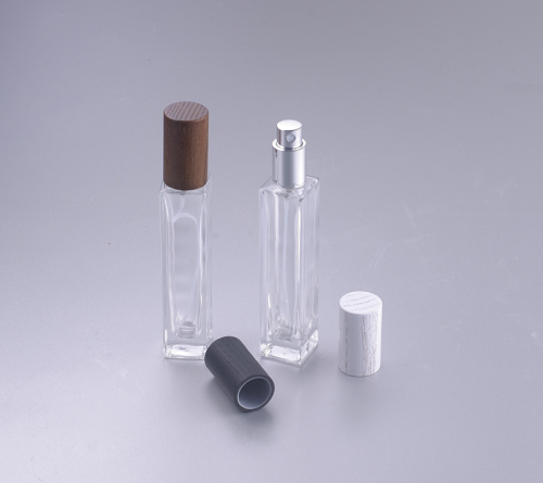 7ml perfume spray bottle with wooden cap