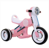Pink color baby plastic kids electric car 3 wheel motorcycle for girls