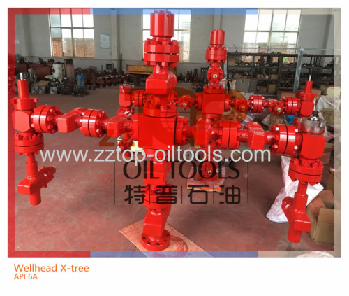 WELL HEAD EQUIPMENT DUAL WING WELLHEAD CHRISTMAS TREE