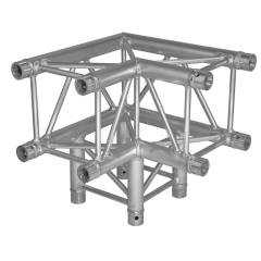 T type 3-way V Corner for 290x290mm square truss