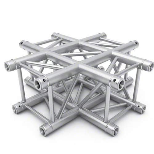 Cross type 4-Way corner for 290x290mm Square truss
